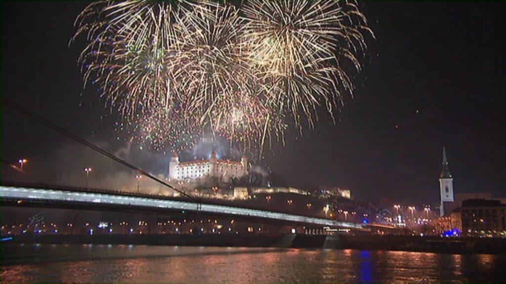 ohňostroj Bratislava