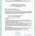 ADR 4D, ADR 4C1, ADR 6, certifikát