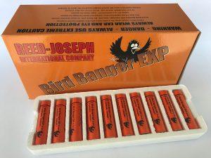 Bird banger exp, priemyselná pyrotechnika