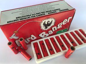 Bird banger, priemyselná pyrotechnika
