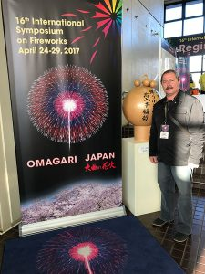 International symposium on fireworks Japan