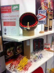 Výstava pyrotechniky Norimberg