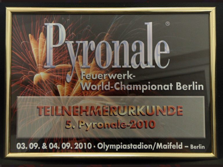 Pyronale, Germany