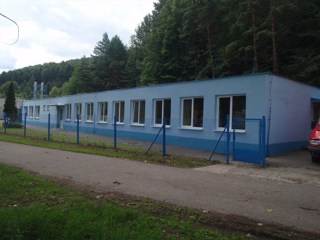 Production and laboratory premises, PRIVATEX-PYRO